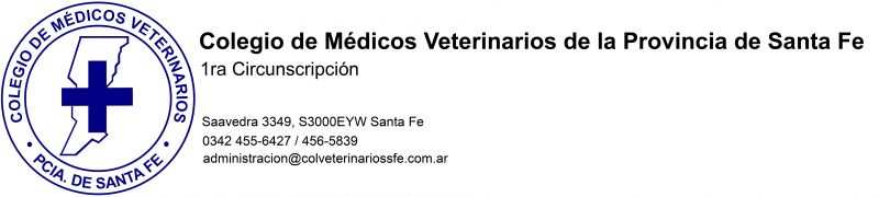 Colegio de Médicos Veterinarios de la Provincia de Santa Fe
